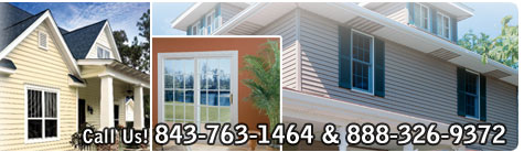 Trust Coastal Siding and Windows, Inc. with all your vinyl siding and replacement window needs. We are Charleston South Carolina's premier home remodeler.